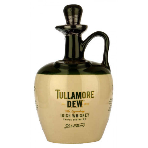 Tullamore Dew Ceramic Decanter