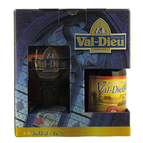 Val-Dieu Gift Pack (3x33cl + 1 Glass)