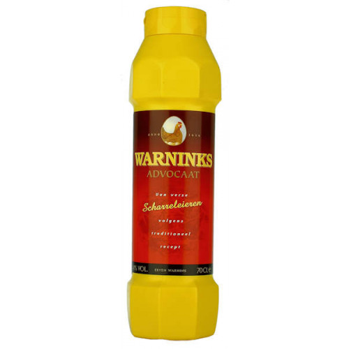 Warninks Scharreleieren Advocaat Squeezy Bottle