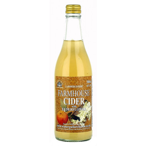 Watergull Orchards Farmhouse Cider with Elderflower