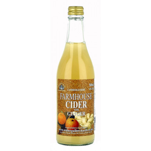 Watergull Orchards Farmhouse Cider with Ginger