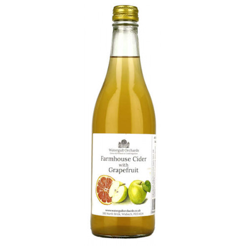 Watergull Orchards Farmhouse Cider with Grapefruit