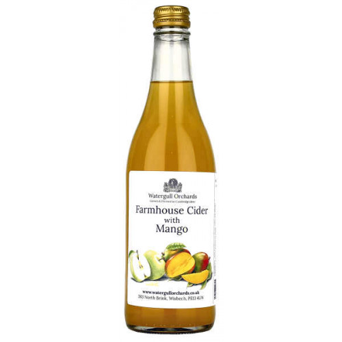 Watergull Orchards Farmhouse Cider with Mango