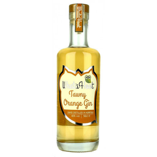 WhataHoot Tawny Orange Gin 700ml