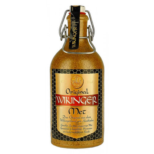 Wikinger Original Mead in Stone Bottle