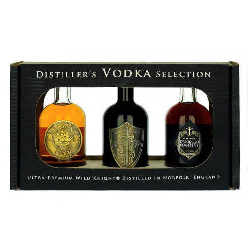 Wild Knight Distillers Vodka Collection