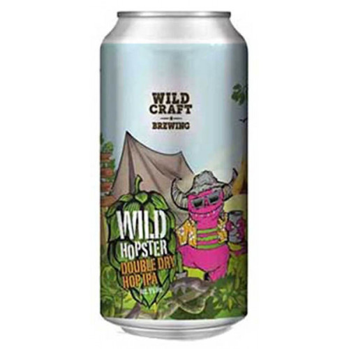 Wildcraft Wild Hopster Double Dry Hop IPA Can