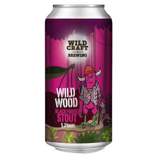 Wildcraft Wild Wood Black Forest Stout Can