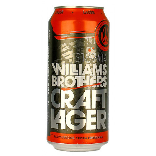 Williams Craft Lager Can