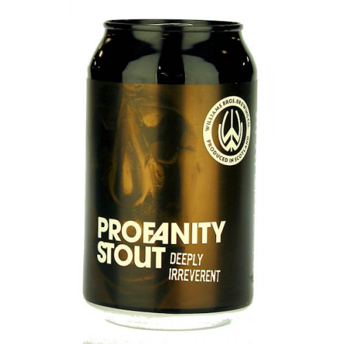 Williams Profanity Stout Can
