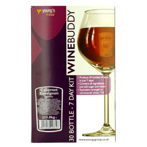 WineBuddy Cabernet Sauvignon 30b Kit