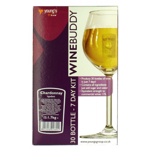 Winebuddy Chardonnay 30b Kit