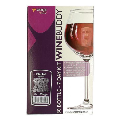 Winebuddy Merlot 30b Kit