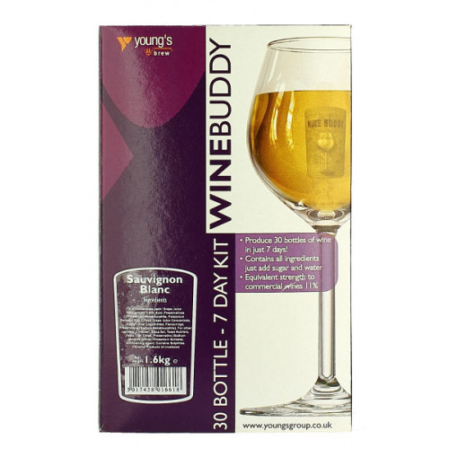 Winebuddy Sauvignon Blanc 30b Kit