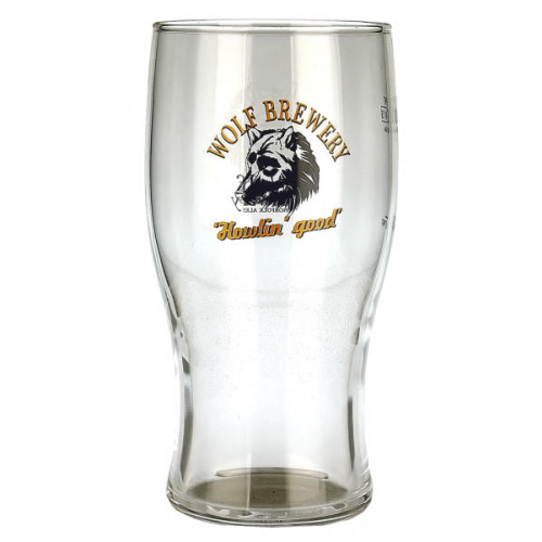 Wolf Glass (Pint)