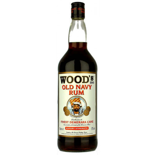 Woods 100 Old Navy Rum 1 Litre