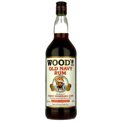 Woods 100 Old Navy Rum 1 Litre