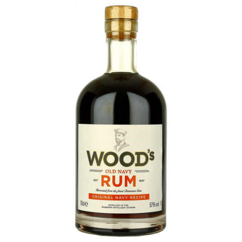 Woods 100 Old Navy Rum