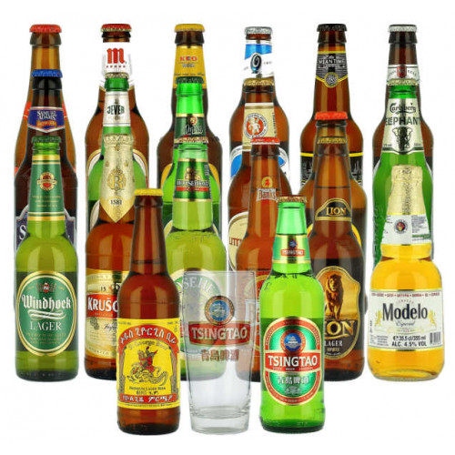 World Lager Mixed 20 + Glass