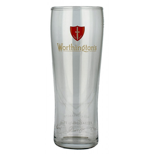 Worthingtons Glass Pint (New Style)