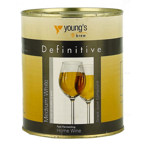 Youngs Definitive Grape Juice Medium Dry White