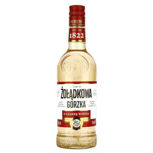 Wodka Zoladkowa Gorzka Z Czarna Wisnia