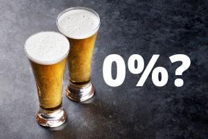 Zero percentage alcohol