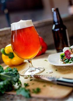 Vegetarian Food and Beer