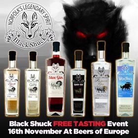 Black Shuck Gin