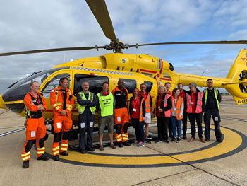 Black Shuck and East Anglian Air Ambulance
