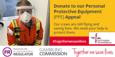 East Anglian Aire Ambulance PPE Appeal