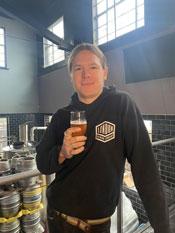 Head Brewer GoergeBoursted