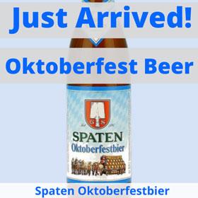 Spaten Oktoberfest Beer